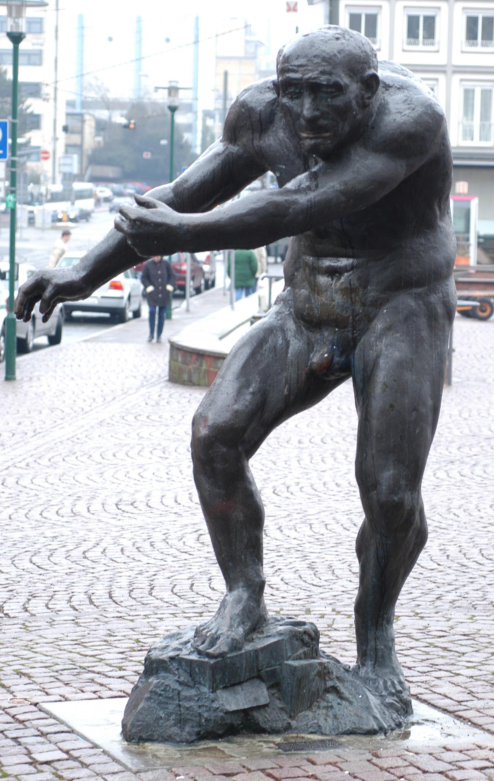 """""""Berserker"""" Waldemar Grzimek 1989"""