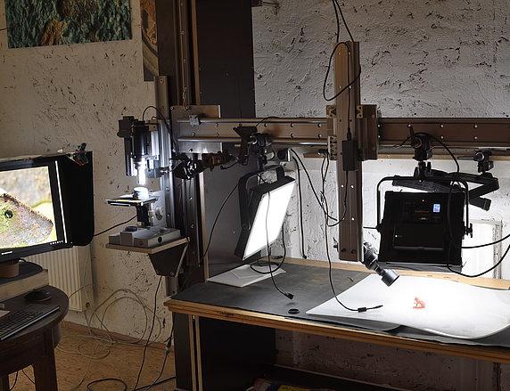 Fotostation für alle Anwendungen